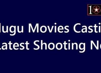 Telugu Movies Casting and Shooting News